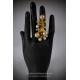 Coral ja Pärlid Sõrmus