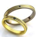 """Wedding rings"" Article: obr-360"