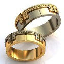 """Wedding rings"" Article: obr-362"