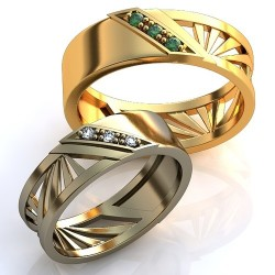 """Wedding rings"" Article: obr-365"