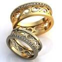 """Wedding rings"" Article: obr-371"